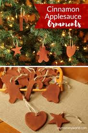 cinnamon applesauce ornaments my world