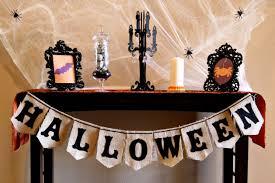 project halloween burlap bunting make