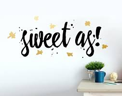 sweet as your decal shop nz designer wall art decals wall sweet as