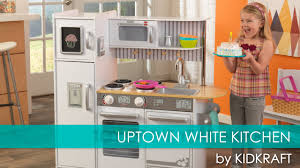 Kidkraft Island Kitchen by Children U0027s Uptown White Play Kitchen For Lil U0027 Chefs Toy Review
