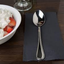 regency flatware stainless steel dessert spoon 12 case