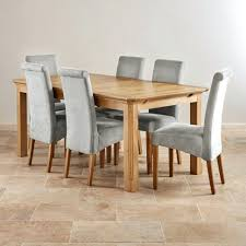 Light Oak Dining Table And Chairs Enchanting Solid Light Oak Dining Table Bespoke Furniture