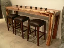 Narrow Kitchen Bar Table Narrow Breakfast Bar Table Chene Interiors