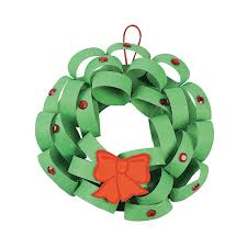 loopy christmas wreath craft kit orientaltrading comk kids can