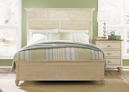 Natural Pine Bedroom Furniture by Ocean Isle Bedroom Set With Hardwoods U0026 Pine Veneers And Bisque
