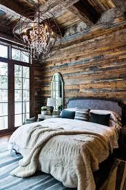 Rustic Bedroom Bedding - rustic cabin bedroom by timothy johnson design blue rooms cabin
