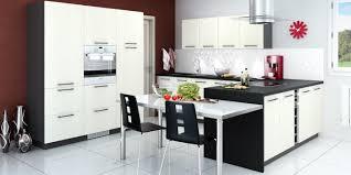 exemple de cuisine ouverte modele cuisine en u amenagement cuisine surface idee