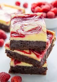Chocolate Raspberry Recipes White Chocolate Raspberry Cheesecake Brownies Baker By Nature