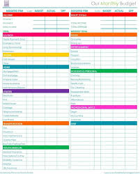 paycheck simple monthly budget planner budgeting printable