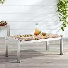 Grade A Teak Patio Furniture by Macon Teak Outdoor Coffee Table Whitewash Outdoor