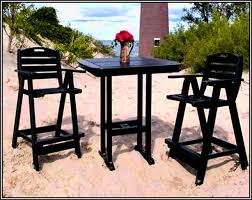Outdoor Pub Style Patio Furniture Home Design Fascinating High Outdoor Table Chair Tall Kitchen
