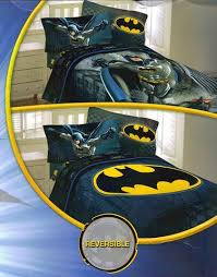 Batman Twin Bedding Set by Batman Speed 4pc Twin Comforter And Sheet Set Bedding Collection