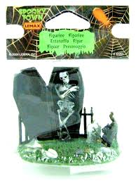 halloween figurine amazon com lemax 62201 spooky graveyard figure spooky town