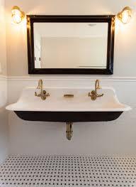 Kohler Pedestal Bathroom Sinks Terrific Kohler Cast Iron Bathroom Sink Large 48 Farm Porcelain