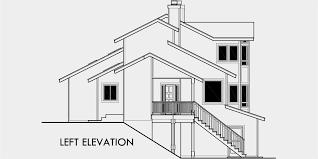 multi level house plans elevated foundation house plans best of view house plans sloping lot