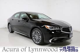 new 2018 acura tlx 3 5 v 6 9 at sh awd with advance package 4dr