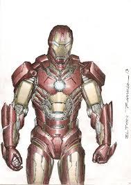 iron man sketch color by eltonramalho on deviantart