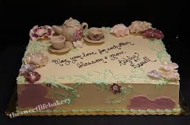 tea party bridal shower vintage tea party bridal shower cake sculpted and pai flickr