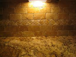 Stone Backsplash In Kitchen Home Design Travertine Stone Backsplash Ideas Craftsman Garage