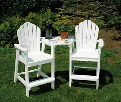 Patio Chairs Bar Height Plastic Adirondack Chairs Bar Height Patio Furniture