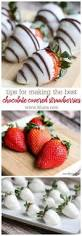 Snowberries White Chocolate Dipped Strawberries How To Make Chocolate Covered Strawberries Recipe Best Easy