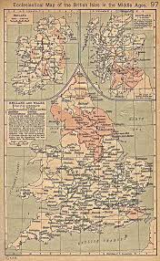 Map Of Ireland And England by Insula Maledictus Maps