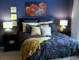 blue yellow bedroom navy and yellow bedroom with white comforter instead of the blue