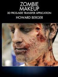 Special Effects Makeup Schools Atlanta Stan Winston Dvd Zombie Makeup 3d Pros Aide Transfer Application