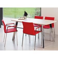 table de cuisine en stratifié table de salle a manger stratifiée elias