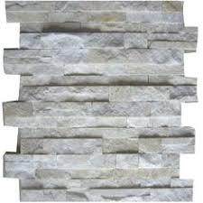StoneSkin Dolomite And Grey Marble Peel N Stick Mosaic Tile - Backsplash stone tile