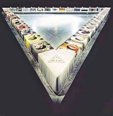 judy chicago dinner table around a dinner table like no other