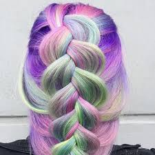 how to blend hair color unicorn hair color trend colorful hair color trends teen vogue