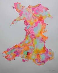 Map Of Wales Pilkington Niki Plas Glyn Y Weddw