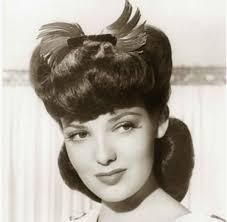 women hairstyle france 1919 1940s hairstyles memorable pompadours linda darnell classic