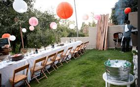Backyard Themes Backyard Party Ideas Themes And Tips Families Online Magazine