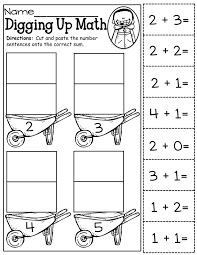 collections of kindergarten math cut and glue bridal catalog