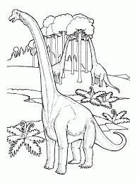 dinosaur brachiosaurus free printable coloring pages
