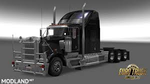 truck bumpers including freightliner volvo peterbilt kenworth kenworth w900 tri drive by bu5ted mod for ets 2