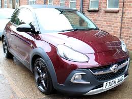 opel adam 2016 2016 vauxhall adam 1 2i rocks air 3dr convertible manual purple 1