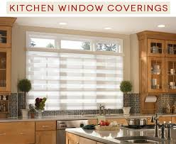 Kitchen Window Curtain Ideas Six Great Kitchen Window Covering Ideas For Coverings Remodel 9