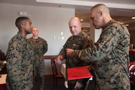 usmc letter of appreciation template two marines sailor earn nam for outstanding performances marine download hi res photo