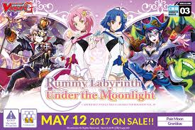 cardfight vanguard g character booster 3 rummy labyrinth under the moonlight