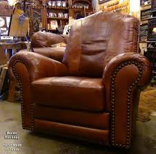 Top Grain Leather Sofa Recliner 100 Cut Top Grain Leather Recliner Made In Usa
