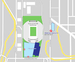 Seattle Parking Map by Seattle International Auto Show