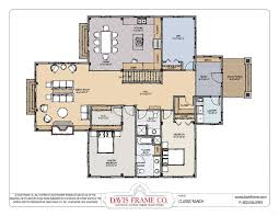 Ranch Open Floor Plans by Lake Home House Plans On Ranch Open Floor Plan Timber Frame Style