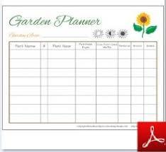 garden printables free charts u0026 planners plus activities for kids
