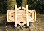 Free Woodworking Plans Hexagon Picnic Table by Picnic Tables At Woodworkersworkshop Com