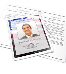 Making A Funeral Program Select A Funeral Program Design And Layout