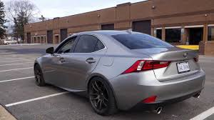 2015 lexus is 250 custom 2014 lexus is350 f sport exhaust under full acceleration youtube