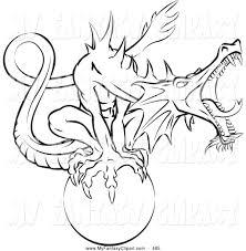 royalty free coloring page stock fantasy designs